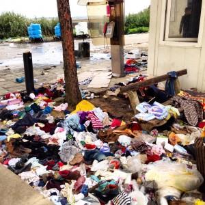 rifiuti indumenti