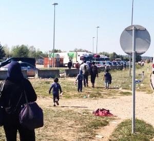 rifugiati al confine