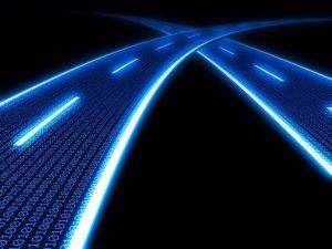 Cavi in fibra ottica internet telecomunicazione tecnologia fibre